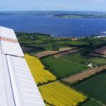 Luftaufnahme der Flensburger Förde