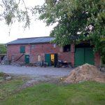 Die alte Scheune vor dem Umbau